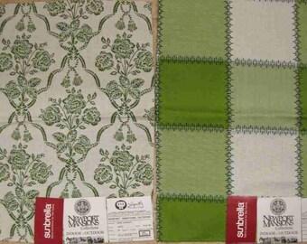 Lime Green Outdoor Newport Pindler Designer Fabric Lot Samples Coordinated Sunbrella Charente Almy