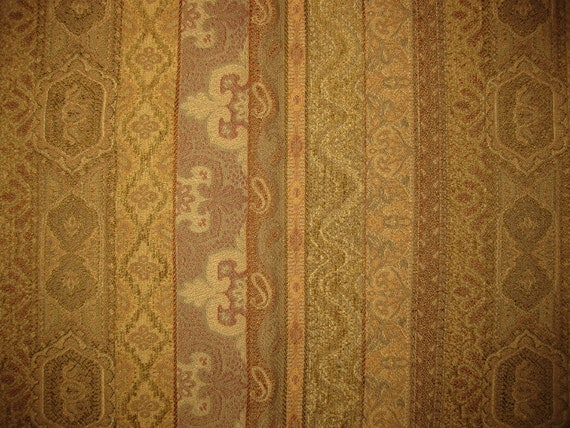 Stout Baluchi Tan Ethnic Stripe Tapestry Designer Fabric Sample Upholstery From Fabricsamples On