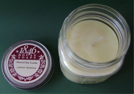 Lemon Verbena 8 oz. Soy Candle
