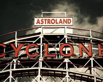 The Cyclone - 6x9 Metallic Matted Print