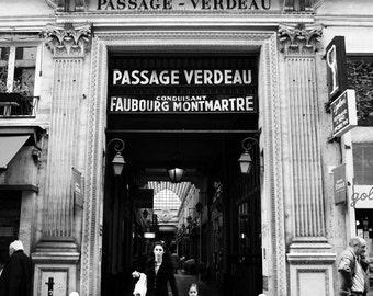 Passage Verdeau - 11x16 matted print
