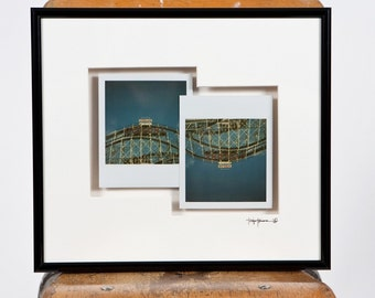 The Cyclone - Framed Polaroid Diptych - Original prints 1/1