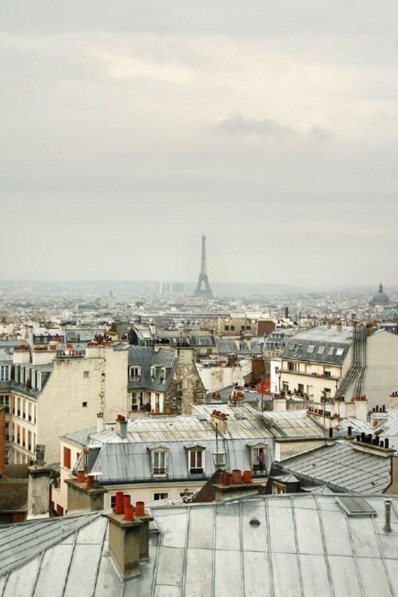 Paris. - 8x12, metallic matted print