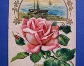 Vintage Greetings Postcard