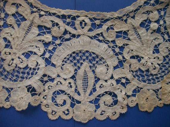 Honiton Lace For Sale Honiton Bobbin Lace Collar