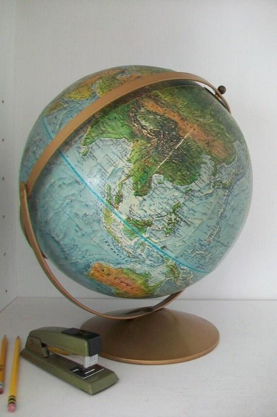 SALE- Vintage Globe