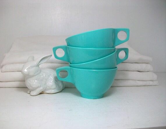 Robin's Egg Blue Vintage Cups