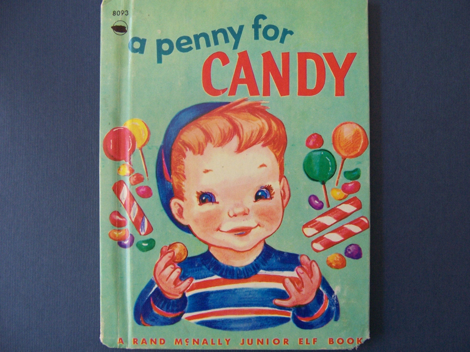Vintage 1940's Children's Book A Penny for Candy