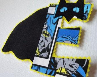 "DIY 4"" Super Hero Letter Iron On"