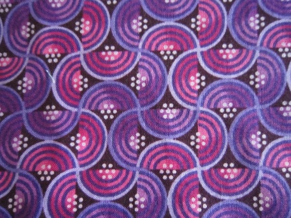 Marcus Brothers Fabric - Sylized purples