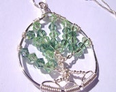 Emerald Forest - Tree of Life Pendant Necklace