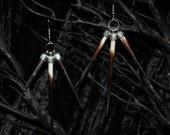 Porcupine Spike Earrings II FREE SHIPPING