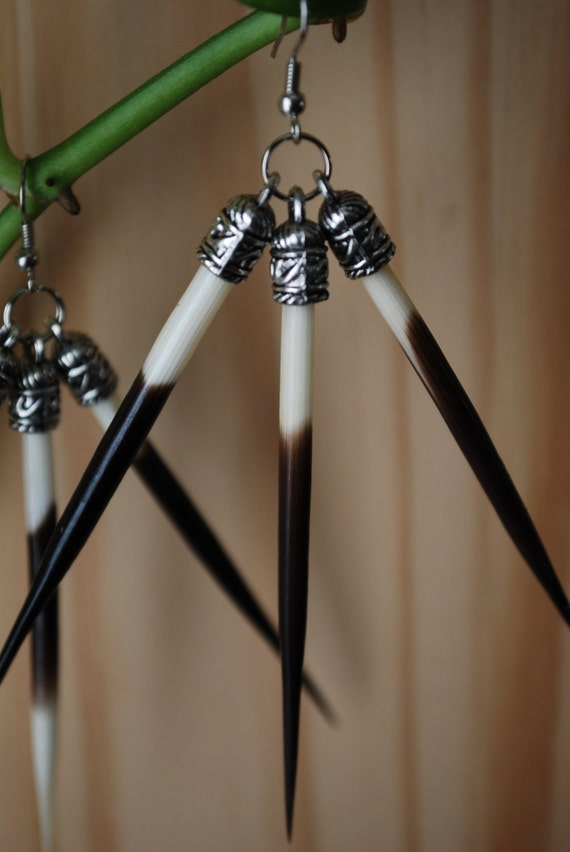 Porcupine Spike Earrings