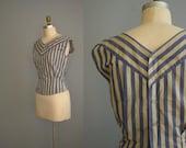 Vintage Two Way Street blouse