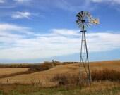 Autumn Windmill - Fine Art Photograph
