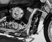 Motorcycle Reflections - Fine Art Photograph