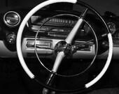 "12"" x 12"" 1959 Cadillac Steering Wheel - Fine Art Photograph"