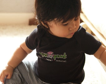 Miso Punk black baby Onesie or Toddler T-shirt