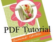 Cuff Bracelet Sewing Pattern PDF Tutorial