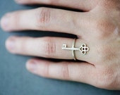Skeleton Key Ring