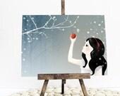 """Postcard """"Snow White"""""""