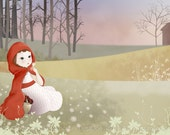 """Print Open Edition of """"Little Red Riding Hood"""""""