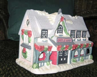 Hand Painted Ceramic Christmas Houses..now 20% off