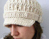 30 Colors Womens Newsboy Hat Womens Newsboy Cap Crochet Newsboy Knit Womens Hat Buckle Adult Newsboy Adult Hat Cotton Hat Cotton Newsboy