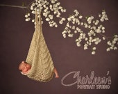 Rockabye Baby Hammock Knitting Pattern pdf Number 103 -- INSTANT DOWNLOAD -- Newborn Photo Prop -- Very Easy -- Over 35,000 patterns sold