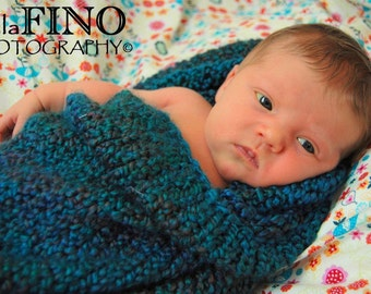 Baby Cocoon and Pod Easy Knitting Pattern -- Two Patterns in One, PDF 101, INSTANT DOWNLOAD -- Over 16,000 patterns sold, 100% positive