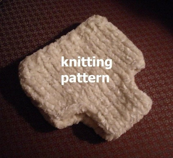 Knitting Pattern Numbers : KNITTING PATTERN Numbers 107 and 108 TWO Diaper Cover by 4aSong
