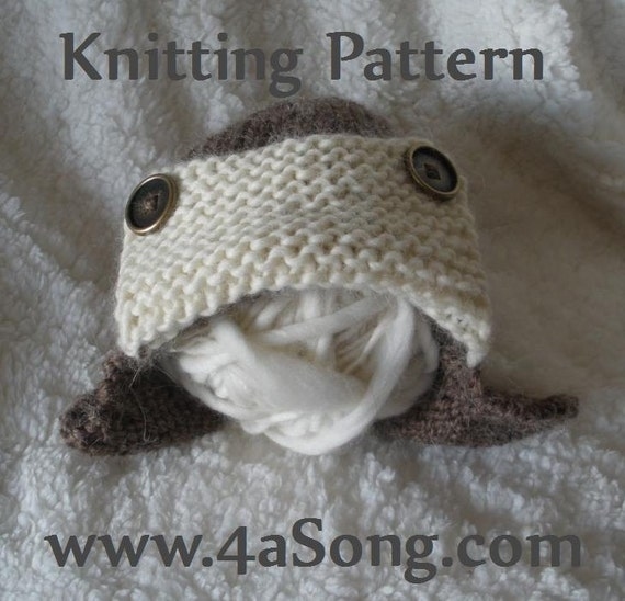 Knitting Pattern For Baby Pilot Hat : Items similar to Aviator Bomber Ear Flap Baby Hat Knitting Pattern PDF Number...