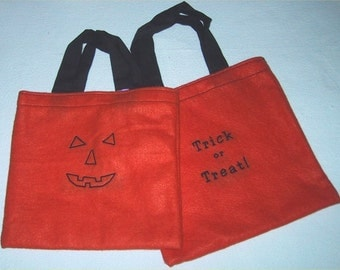 Pes Halloween Trick or Treat Bag PATTERN & Witches Brew Embroidery Machine Design FILES