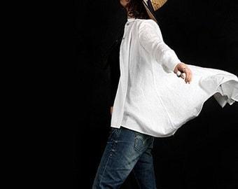 The Kite 1 asymmetrical shirt (Y1002)