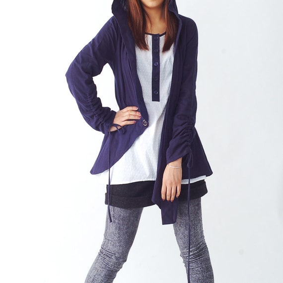 Dandelion - fause two layered hoodie jacket (Y1202)