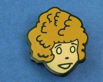Vintage Little Orphan Annie Pin