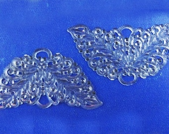 100 Vintage Clear Hard Plastic Angel, Butterfly or Fairy Wings - BARGAIN - Buy 75 - Get 25 Free