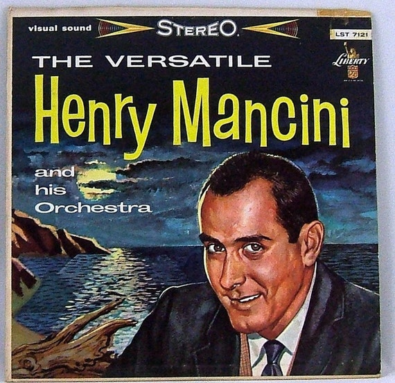 The Versatile Henry Mancini and His Orchestra Vintage Vinyl LP (1957 ...