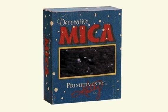 Black Mica Glitter
