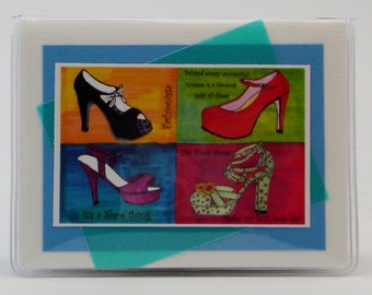 High Heels Credit Card Case