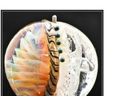 Tutorial Making Armadillo Beads - working with silver glass