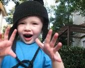 RESERVED FOR LAURENMNOYES 12-24 Months Black Cat Hat