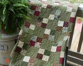 Cabin Cozy Snuggle Quilt