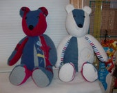 Memory Teddy Bears Reserved for Sarah