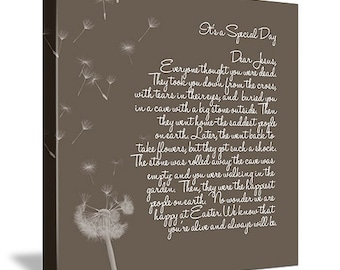 Nursery Canvas Personalized Art Child Words Art whimsical words 10X14 Geezees Canvas Art