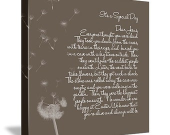 Holiday Gift Nursery Canvas Personalized Art Child Words Art whimsical words 10X14 Geezees Canvas Art