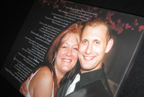 Tribute Memorial Bereavement Artwork Custom Canvas Lyrics, Quotes on  Canvas 10x10 Geezees Canvas Art