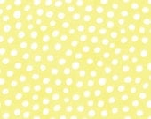Twirl by Me and My Sister - Dots in Ying Yang Yellow - 1 yard