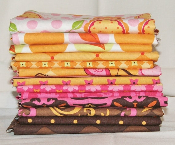 Andalucia II by Patty Young Fat Quarter bundle in Tutti Fruitti - 13 total