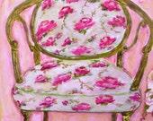 Pink Chair (print)